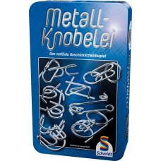 Fémdobozban: Ördöglakat gyüjtemény  Metall-Knobelei(51206)