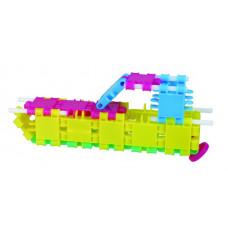 Henger építőkészlet - Csillogó (16 építmény) (CK025) Clics tube 16 constructions Glitter