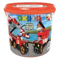 Hero Squad Fire drum - 8 in 1 (CD004)