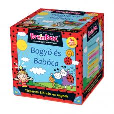 Brainbox Bogyó És Babóca magyar nyelvű társasjáték   Rubik kocka