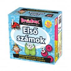 BrainBox Első számok társasjáték, 3 éves kortól   Rubik kocka