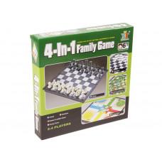 4IN1 társasjáték (sakk, dáma, ki nevet a végén, létrák és kígyók) | Rubik kocka